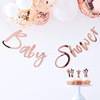 Ginger Ray Rose Gold Baby Shower Bunting Garland