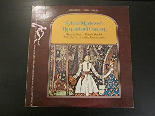 HARPSICHORD CONCERT - vinyl lp. MUSIC OF MOZART, PURCELL, HANDEL, BYRD, HAYDN, COUPERIN, AND OTHERS.