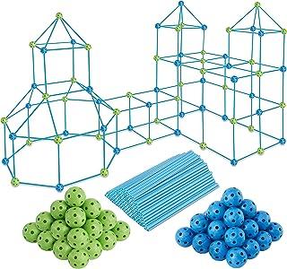 150 PCS Kids Fort Building Kit - Fort Builder | Fort Kit | Crazy Kids Fort Building Set | Build A Fort | Air Fort | Indoor...