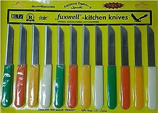 Kutz Stainless Steel Fuxwell Knife 12 Piece Set- 18cm