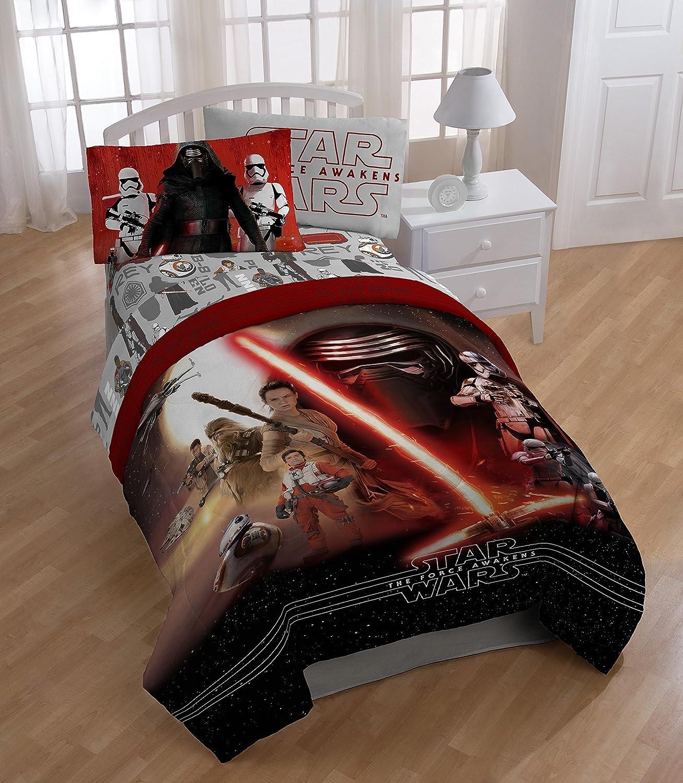 Star Wars Ep7 Force Awakens Twin//Full Reversible Comforter