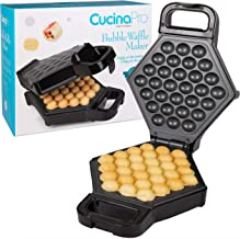 Bubble Waffle Maker- Electric Non stick Hong Kong Egg Waffler Iron Griddle – Ready..