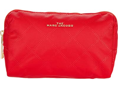 Marc Jacobs The Beauty Triangle Pouch (Raja Red) Cosmetic Case