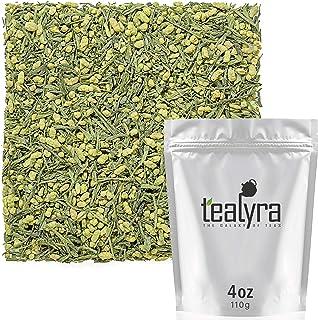 Tealyra - Gen Mai Matcha - Japanese Genmaicha Green Tea Blended with Matcha Powder - Loose Leaf Tea - Caffeine Medium - Hi...