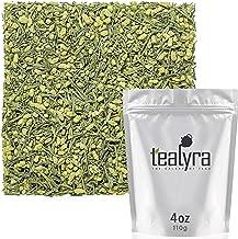 Tealyra - Gen Mai Matcha - Japanese Genmaicha Green Tea Blended with Matcha Powder - Loose Leaf Tea - Caffeine Medium - High Antioxidants - 110g (4-ounce)