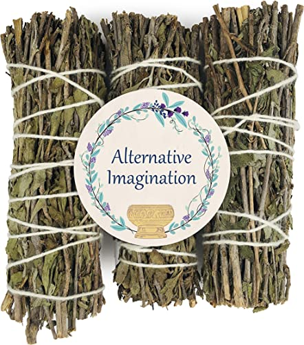 2021 Alternative popular Imagination Mugwort Incense high quality Wands, for Aromatherapy, Cleaning, Meditation, Yoga, and Smudging. Pack of 3 online