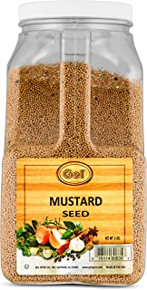 Gel Spice Mustard Seed - Food Service - 6 Lb