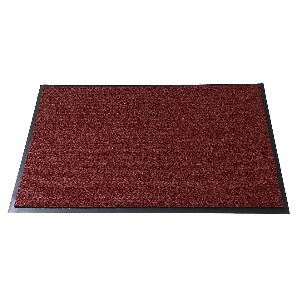 3M 玄関マット ノーマッド カーペットマット 4000 業務用 N4 RED 900X1500D
