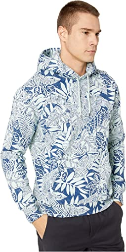 Tropical Party Blue/White