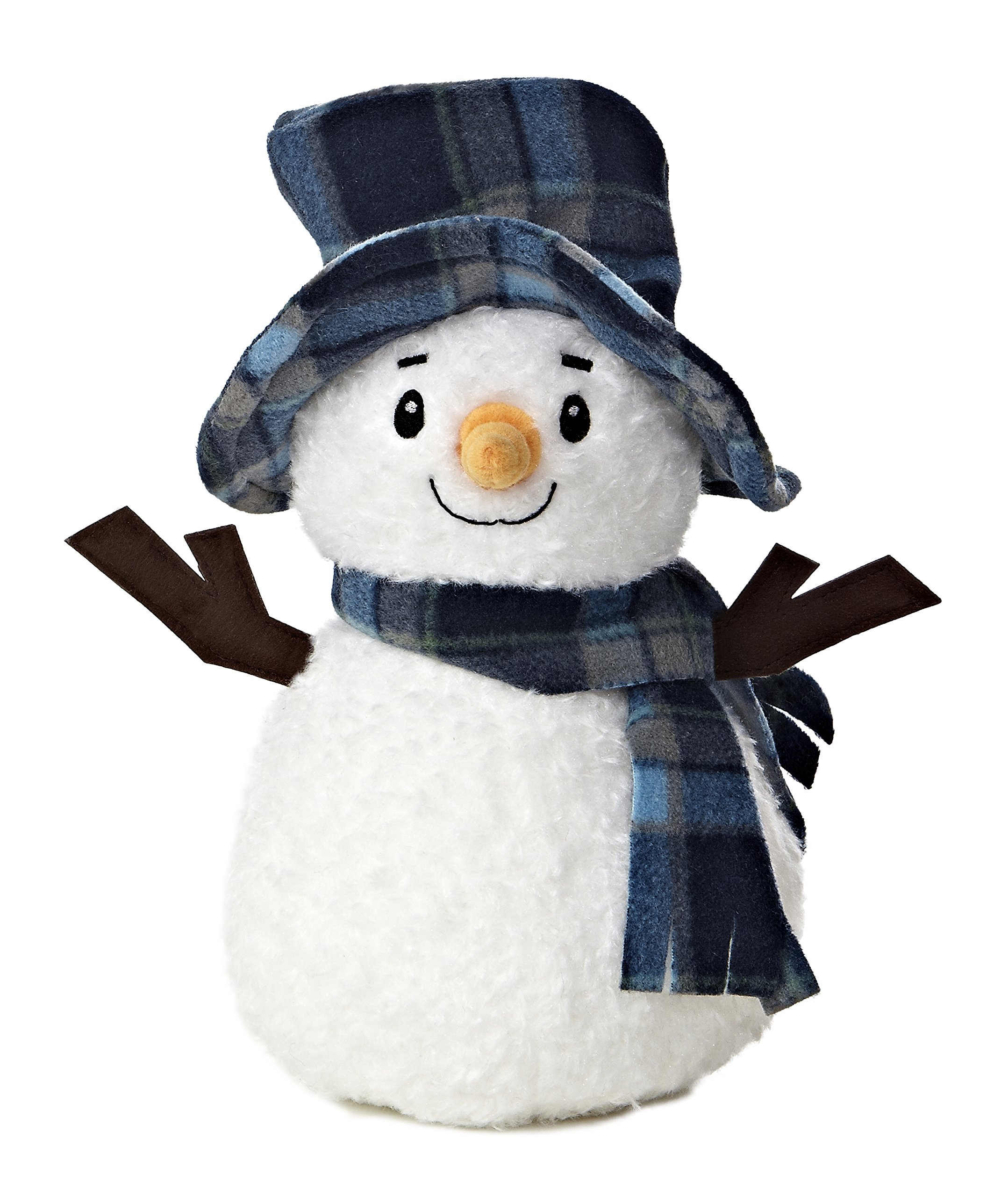 Image of Adorable Snowman Plush Toy
