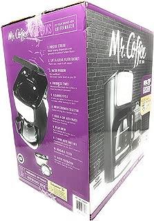 Mr.Coffee BVMC-DVX41 12 Cup Programmable Coffeemaker Black/Silver