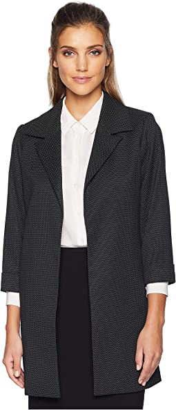 Woven Open Front Jacket