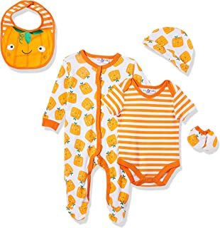 Lilly and Jack Unisex Baby UNISEX 5 PCE MULTIPACK HALLOWEEN Baby Clothes