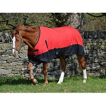 600d Light Weight Waterproof Horse Turnout Rug 100g Fill Rainsheet