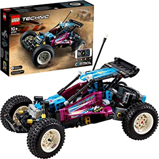 LEGO 42124 Technic Off-Road Buggy Control+ App-Controlled Retro RC Car Toy for Kids