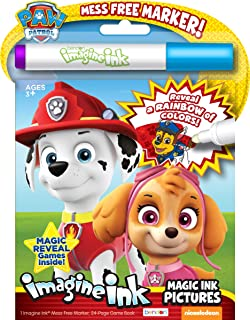 Best Bendon Nickelodeon PAW Patrol 24-Page Imagine Ink with Mess Free Marker 38709 Reviews