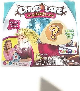 Chocolate Egg Surprise Maker Refill - White chocolate