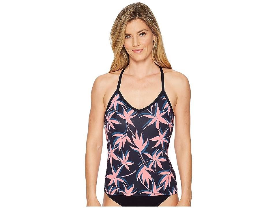 Carve Designs Catalina Tankini (Flamingo Palms) Women