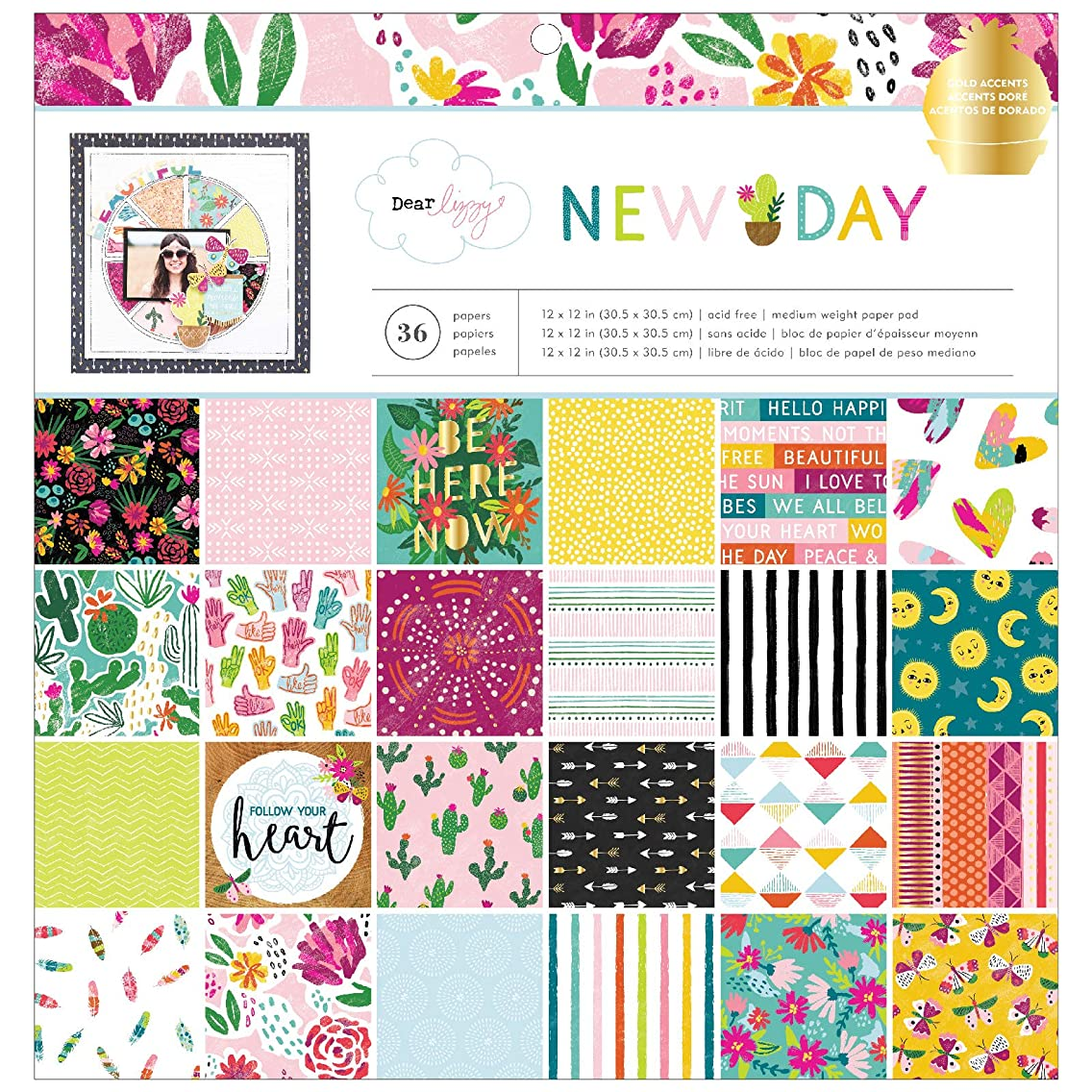 Dear Lizzy 349517 New Day Paper Multicolor eluthkm92