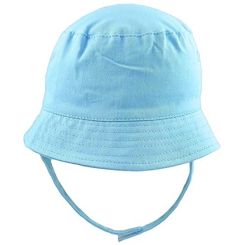 16168b12bb3 Pesci Baby Boys Girls Summer Bucket Sun Hat with Chin Strap