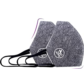 ARCTIC FOX India AIW V2 Washable and Reusable Mask Fashionable & Designer Cloth Mask (Pack of 2)…