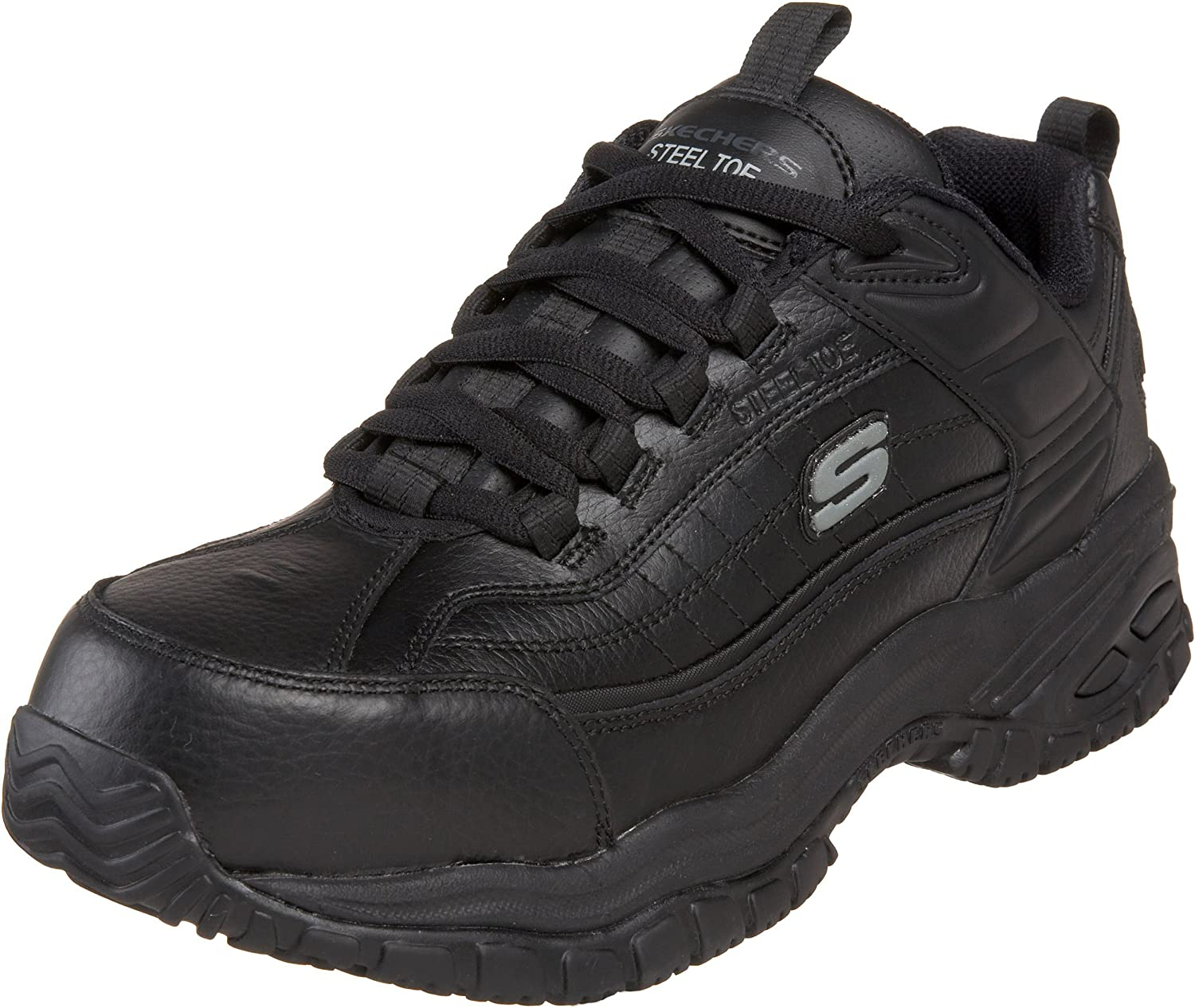 bf2a5878143 Steel Stride Soft Work for Skechers Toe Men's shoes Work ...