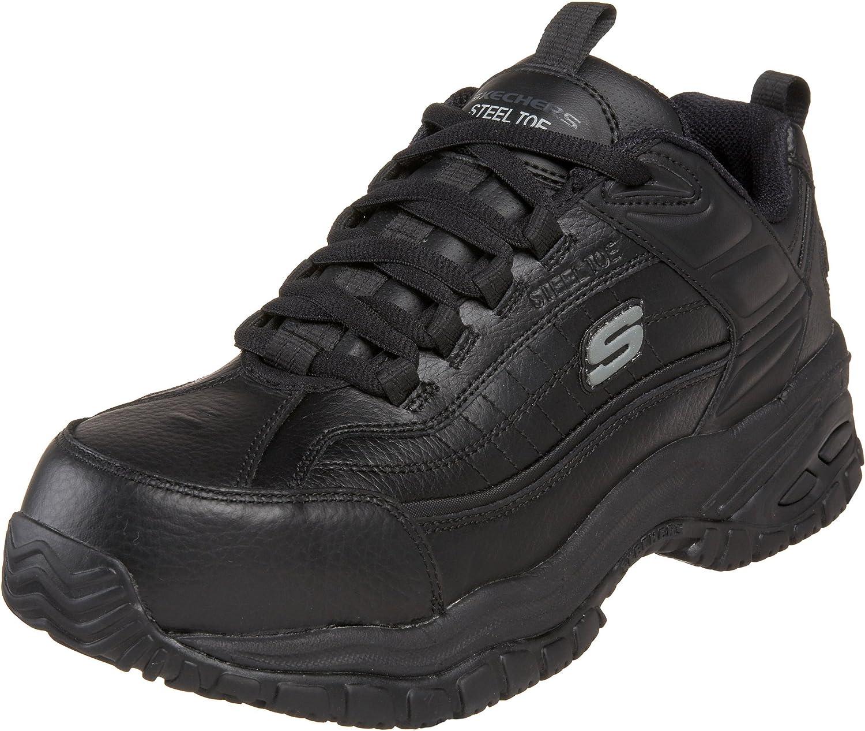 d675c9cbba6 Steel Stride Soft Work for Skechers Toe Men's shoes Work ...