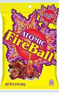 Atomic Fireball Hard Candy, Cinnamon Flavor, 5.5 Ounces