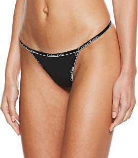 Calvin Klein Thong for women in Black, Size:Small