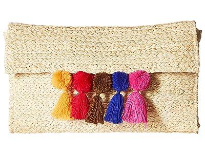 Hat Attack Poppy Clutch (Natural) Clutch Handbags