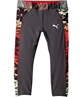 Puma Kids - Capris with Printed Pipings (Little Kids)