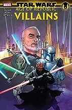 Star Wars: Age Of Republic - Villains (Star Wars: Age Of Republic (2018-2019)) (English Edition)