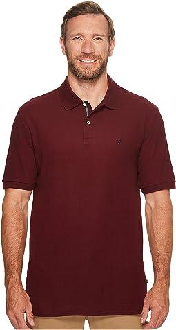 Nautica Big & Tall - Big & Tall Short Sleeve Solid Deck Shirt