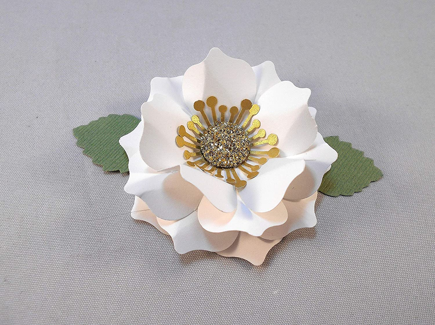 Paper Flower Craft Kit Easy NEW by Assembly Step Instructions Max 58% OFF