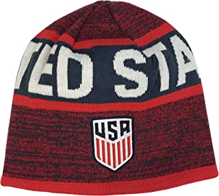 ef91d7fa419cf3 Icon Sports Group USA/US National Team Soccer Reversible Beanie