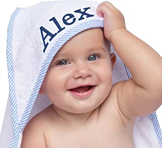 monogrammed hooded towels for kids