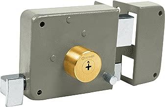 Hermex CS-80D, Cerradura de sobreponer clásica (derecha), llave tetra