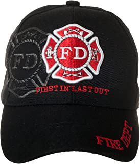 fire department baseball hats