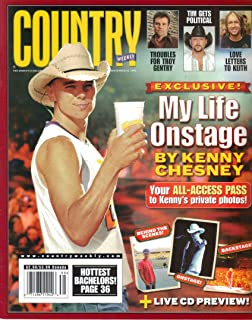 Kenny Chesney: My Life Onstage / Troubles for Troy Gentry / Tim McGraw Gets Political / Love Letters to Keith Urban (Country Weekly, September 25, 2006)