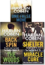 Harlan Coben Myron Bolitar Collection 5 Books Set (Back Spin, One False Move, The Woods, Miracle Cure, Shelter)