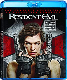 Resident Evil - Collection (Resident Evil / Apocalypse / Extinction / Afterlife / Retribution / The Final Chapter) (Biling...