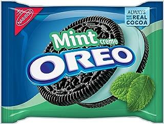 Oreo Mint Creme Chocolate Sandwich Cookies, 15.25 Ounce