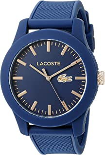 Lacoste Casual Watch Analog Display Quartz For Men 2010817, Navy Blue Band