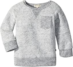 Appaman Kids - Ultra Soft Knit B-Side Sweatshirt (Toddler/Little Kids/Big Kids)