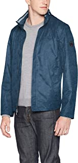 Nautica Men's Classic Fit Embroidered Levy Bomber Jacket