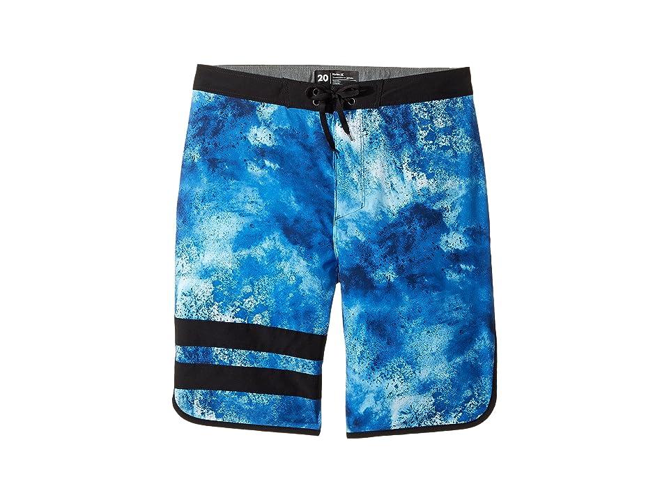 Hurley Kids Phantom 30 Boardshorts (Big Kids) (Chlorine Blue) Boy
