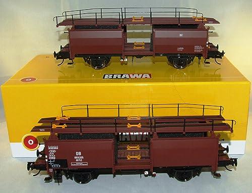 BRAWA 37054 Spur 0 Autotransport Off 52 DB III Exklusiv Modell limitiert 1 45