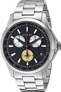 Gucci - Reloj analógico para Hombres de con Correa en Acero Inoxidable YA126267