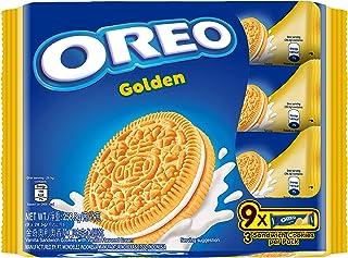 Oreo Golden Oreo Sandwich, 28.6 (Pack of 9)