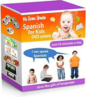 SPANISH FOR KIDS: Early Language Learning System (Spanish in just 20 minutes) Kid